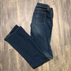 Arizona jeans, curvy bootcut, size 1 long
